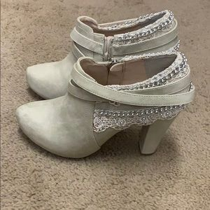 Worn Once - Booties - Size 7.5 women's